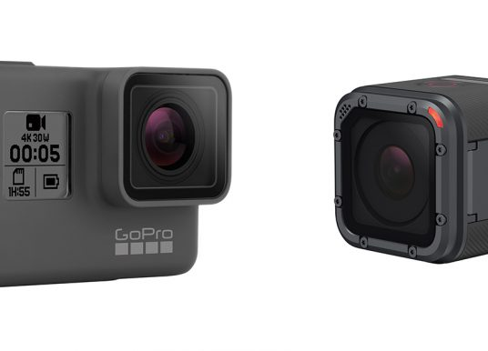 GoPro Hero 5 Black and Hero 5 Session Cameras