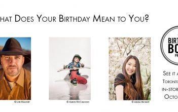 Birthday Book Project Blog Cover