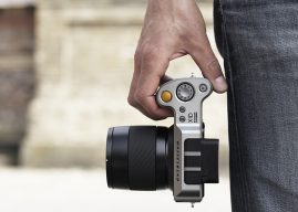 The Hasselblad X1D, the world's first medium format mirrorless camera