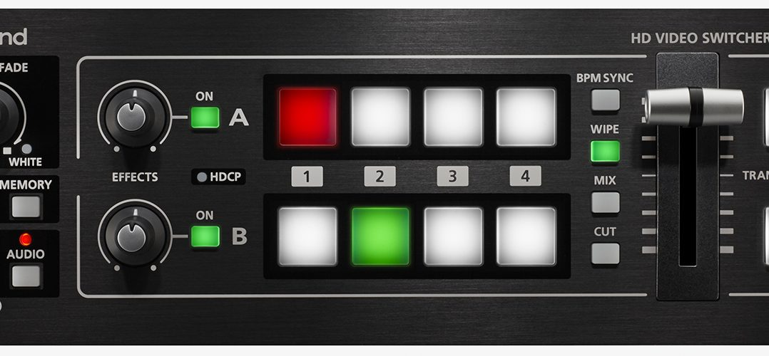 Roland V 1hd Video Switcher Big Things Come In Small Packages