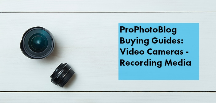 Vistek Buying Guides Camcorder Recording Media Cover