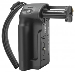 The V-Grip delivers longer camera battery life through power integration and easy firmware upgrades.