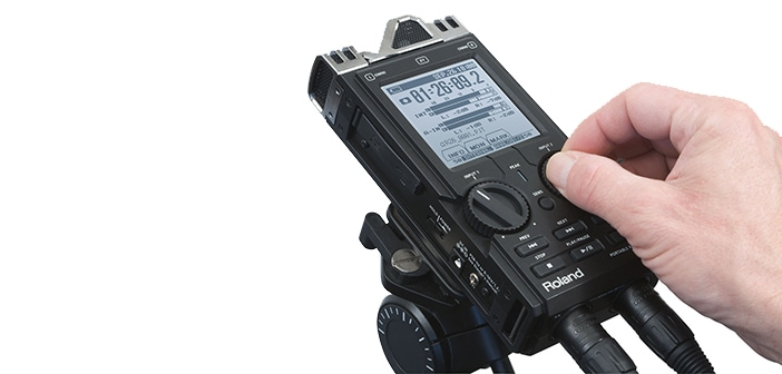 Roland R-26 Portable Recorder Debuts at IBC2011