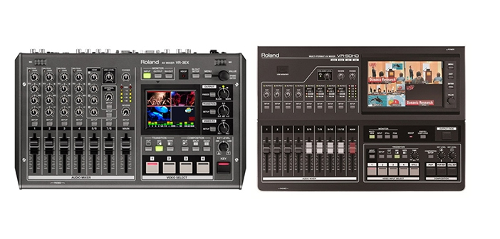 Live stream effortlessly with the latest gear from Roland