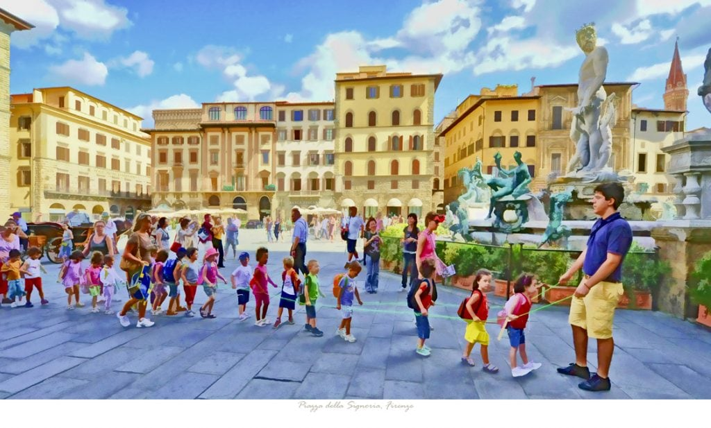 Piazza della Signoria, Firenzen #4