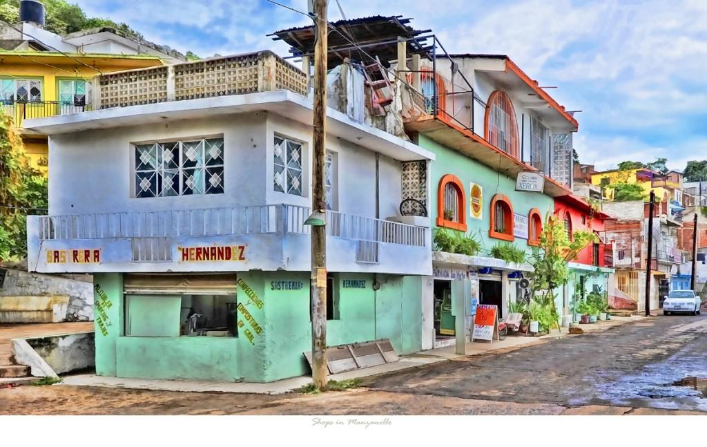 Shops in Manzanillo