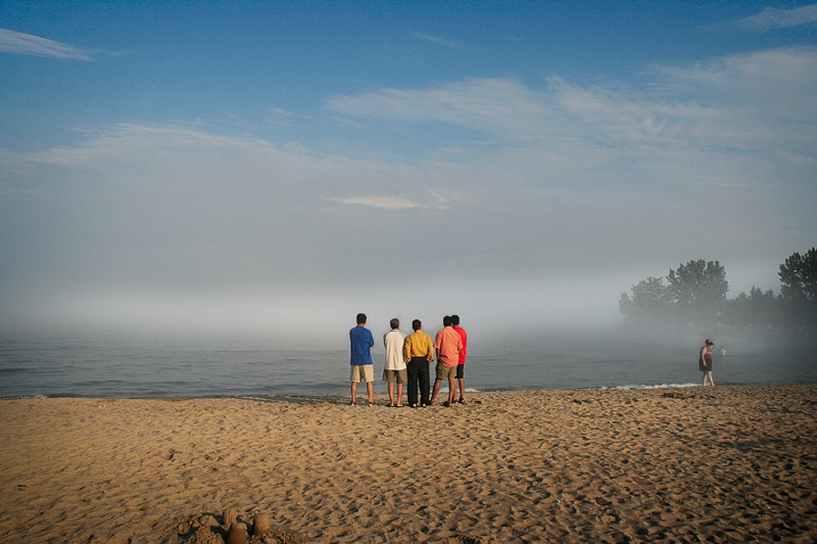 "Eric Weiner ""5 Men at Mist"" from The Remarkable Day Series"