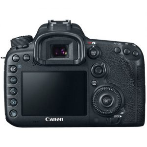 Canon 7D Mark II back