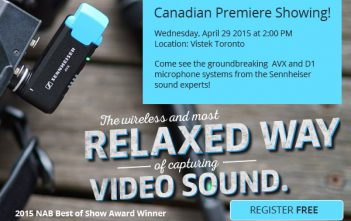 Sennheiser New Products Open House