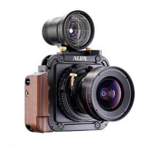 The Alps 12 TC model with optional viewfinder