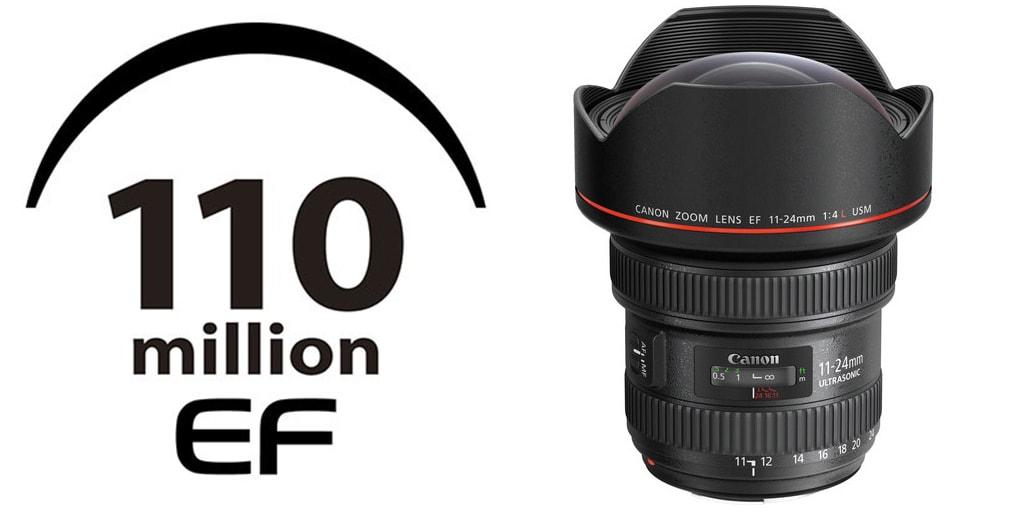 110 millionth lens