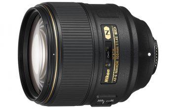 Nikkor AFS_105_1.4E lens