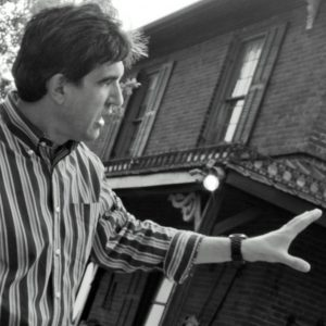 kalman-szegvary-directing-western-set