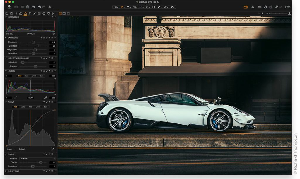 Capture One Pro 10 Screen
