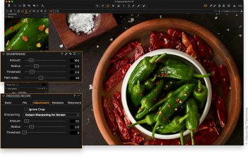 Capture One Pro 10 Sharpening