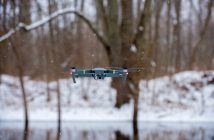 DJI Mavic Flying in Winter LiPo batteries