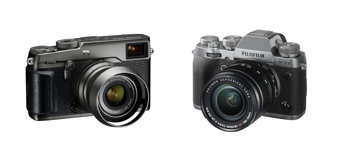 Fuji X-Pro2 and X-T2 Graphite Edition Cameras