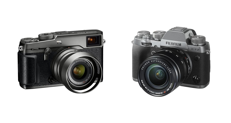 Fujifilm Announces Beautiful Graphite Edition X T2 Pro2 Cameras Body Black