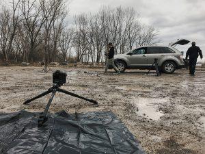 Stella Pro Portable Shoot Setting Up