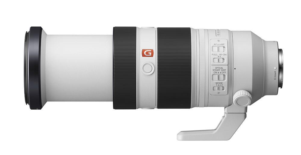 Sony FE 100-400mm lens extended