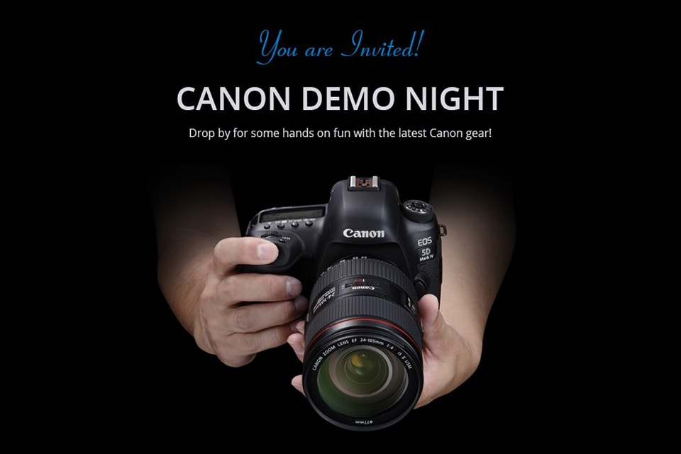 Canon Demo Night