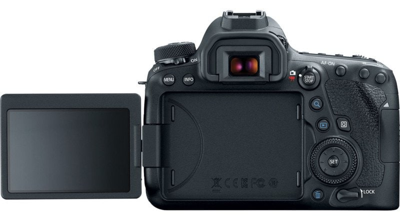 6D Mark II Articulating LCD Screen