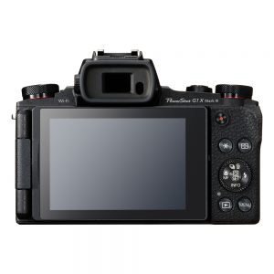 Canon G1 X Mark III Back View