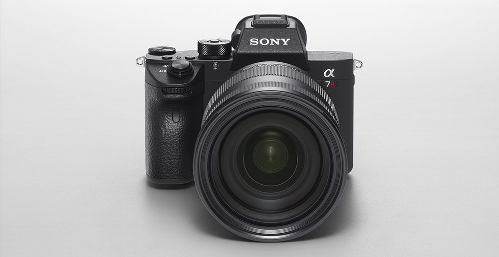 Sony a7R III Front with Lens