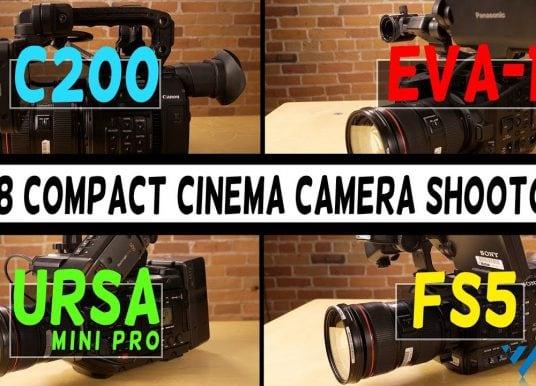 Compact Cine Cams Shootout | C200 vs EVA-1 vs URSA Mini Pro vs FS5