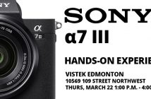 Sony a7 III blog cover - Vistek Edmonton