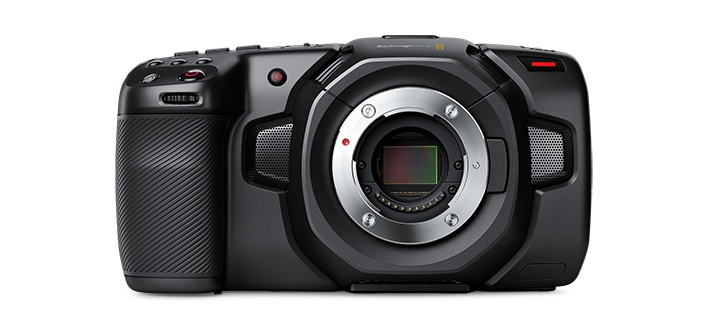 Blackmagic Pocket Cinema Camera 4K Front View