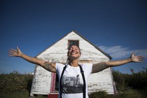 Sarain Carson Fox - Bathurst Inlet Nunavut - Photographer - Natta Summerky