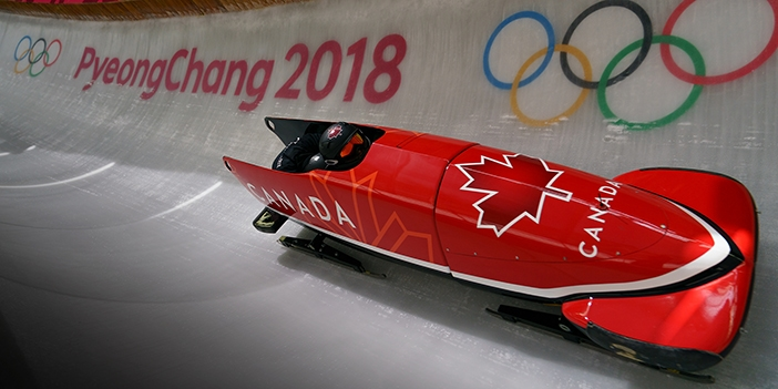 Bobsled at Olympics Photo by Nick Didlick