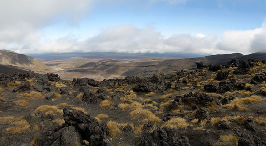 """Mordor"" Rocks along Tongariro crossing, North Island, New Zealand - Joe Beda"
