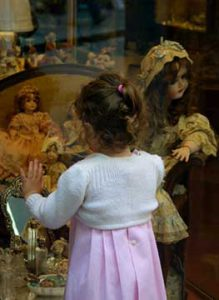 Girl & Dolls - Florence May 2001 Michael Reichamann