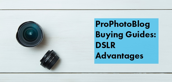 Vistek Buying Guides DSLR Advantages Cover