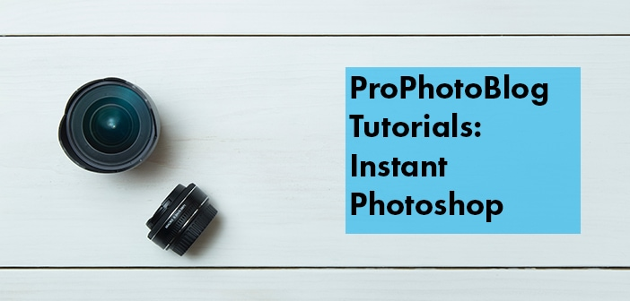 Vistek Tutorials - Instant Photoshop Cover