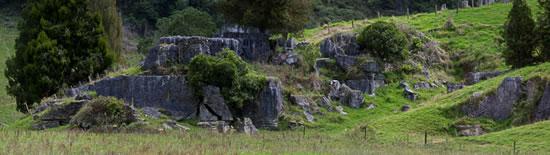 Rocks on Hillside near Waitomo, North Island, New Zealand - Joe Beda