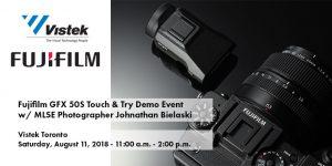Fujifilm GFX 50s Event