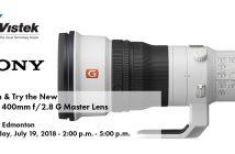 Sony Edmonton 400mm Lens Event Blog