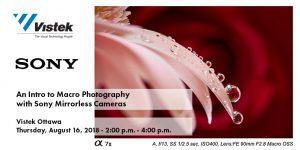 Sony Ottawa Micro Event Blog