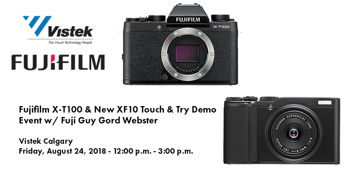 Fujifilm X-T100 and XF10 Event Blog