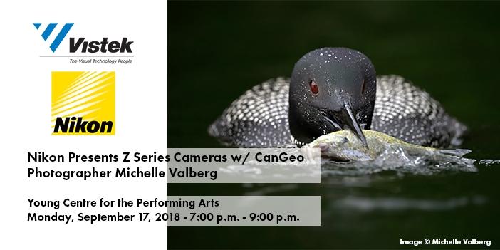 Nikon Michelle Valberg Event Toronto