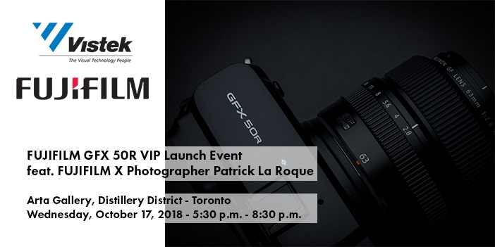 Fujifilm GFX 50R Launch Blog Cover