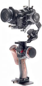 Tilta Gravity G2X with Blackmagic Pocket Cinema Camera Mounted