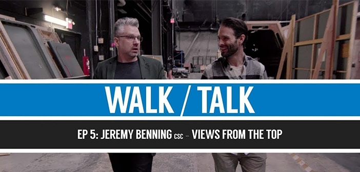 Walk and Talk Ep. 5 - Jeremy Benning Blog Cover
