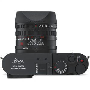 Leica Q-P Top Down View