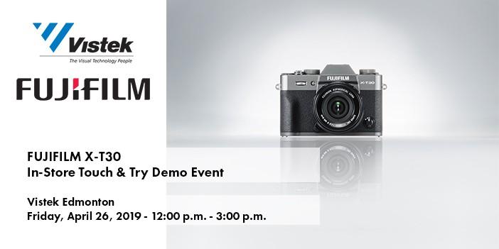 Fujifilm X-T30 Edmonton Event