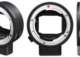 Sigma MC 21 Adds Sigma EF & SA Lens Compatibility to L-Mount Bodies