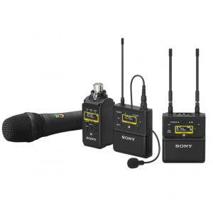 NAB 2019 - Sony UWP-D Series Wireless Microphones